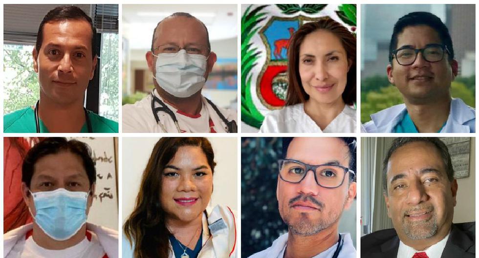 Fiestas Patrias: Médicos peruanos que combaten el coronavirus Covid-19 en el mundo enviaron sus mensajes por 28 de julio. (El Comercio)