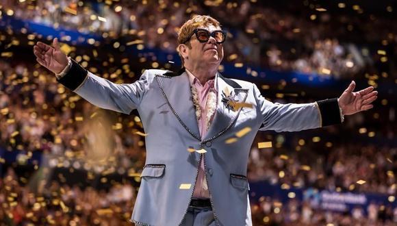 Elton John dice que está muy molesto después de interrumpir show en Nueva Zelanda (Foto: Instagram)
