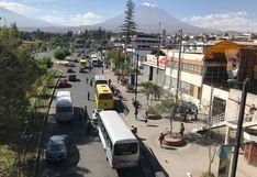 Se reactiva transporte urbano en Arequipa con incremento de pasajes al 100%