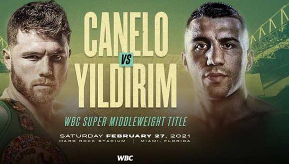 Saúl 'Canelo' Álvarez tendrá su primera lucha del 2021 ante un Avni Yildirim, quien llega dispuesto a ganar