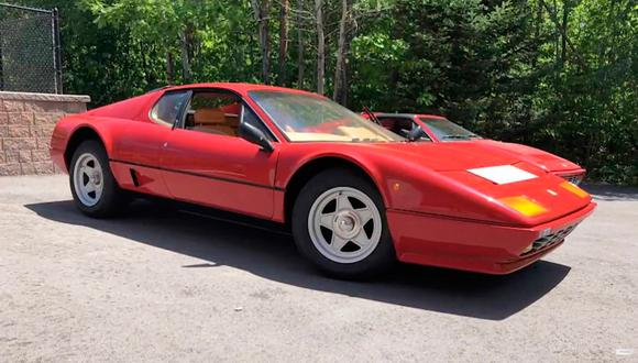 Desde 1981 hasta 1984, un total de 1.007 Ferrari BB 512i salieron de la fábrica de Maranello. (Foto: YouTube).