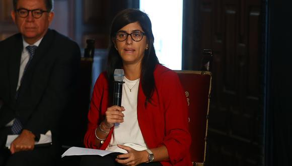 Las medidas de recursos adicionales y alivio tributario han significado una inyección de S/ 8,140 millones, según la ministra María Antonieta Alva. (Foto: GEC)