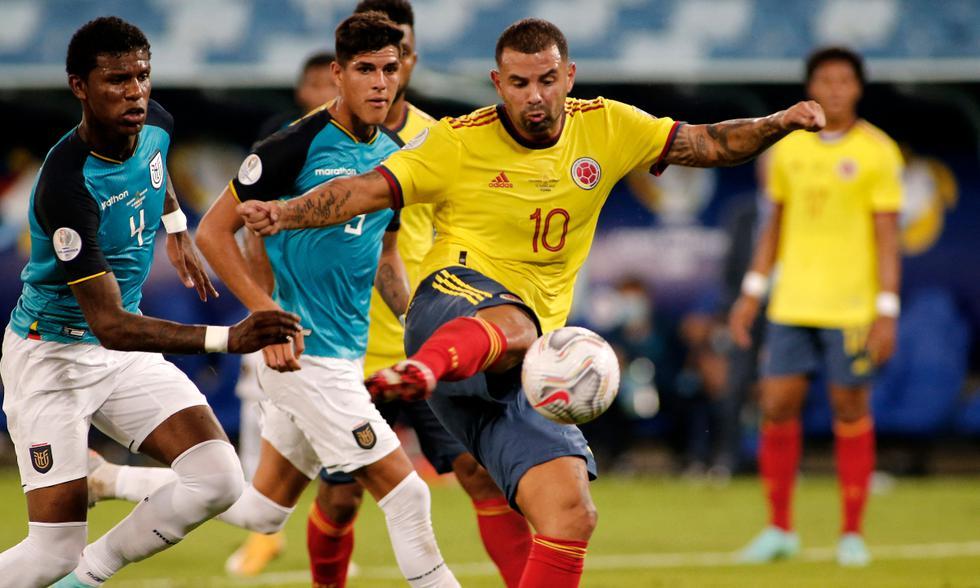 Colombia vs. Ecuador disputan los tres primeros puntos por Copa América 2021 Foto: AFP