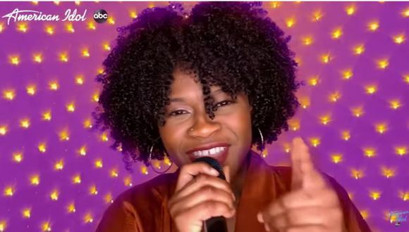 """La cantante neoyorquina""""Just Sam""""  se convirtió en la ganadora número 18 del reconocido programa """"American Idol"""". (Captura de pantalla / YouTube)."""