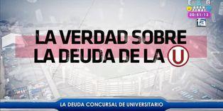 Universitario de Deportes: lo que debes saber sobre la deuda 'crema'