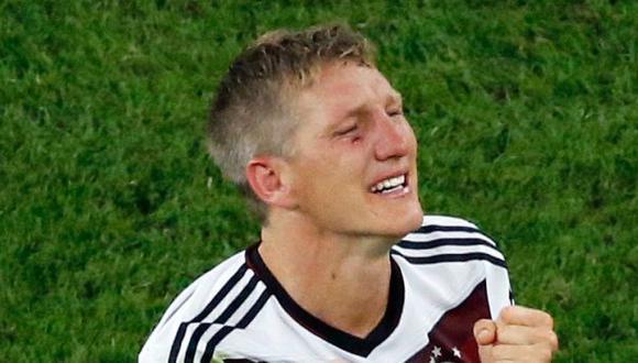 Schweinsteiger: la figura que entregó hasta la sangre