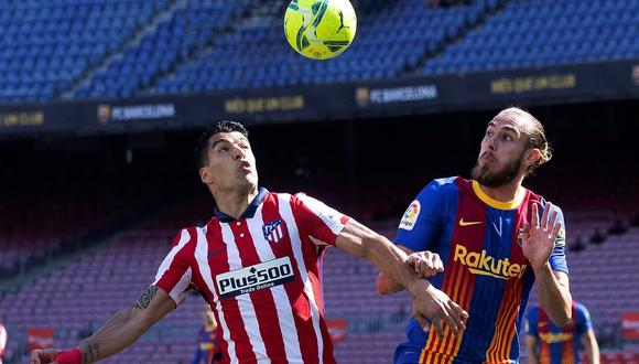 Luis Suárez dejó Barcelona a inicios de temporada para fichar por Atlético de Madrid. (Foto: EFE)