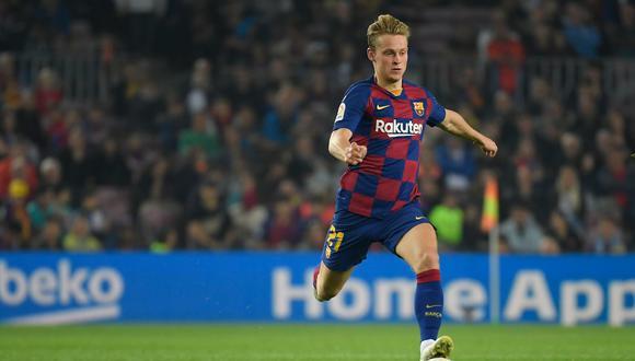 Frenkie de Jong juega como centrocampista en el Barcelona de LaLiga Santander. (Foto: AFP)