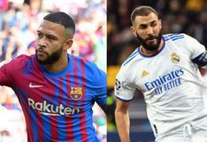 Barcelona vs. Real Madrid en vivo: a qué hora y dónde ver online el clásico español