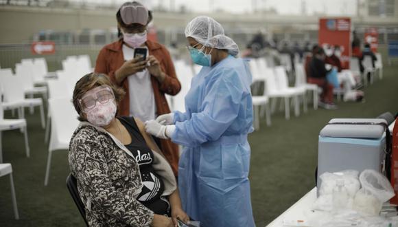 La vacunación avanza en todo el país. (Foto: Joel Alonzo/@photo.gec)