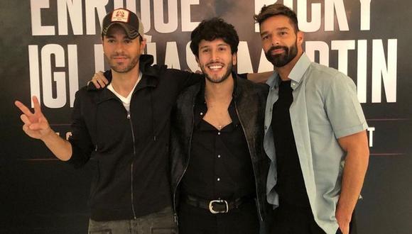 Ricky Martin, Enrique Iglesias y Sebastián Yatra confirmaron las fechas de su gira por Estados Unidos. (Foto: @sebatiányatra)