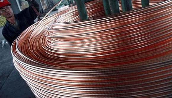 El cobre cerró a la baja el martes. (Foto: Reuters)
