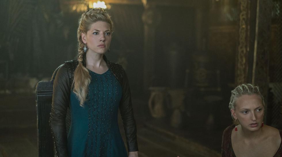 Imágenes de la quinta temporada de Vikings. (Foto: Fox)