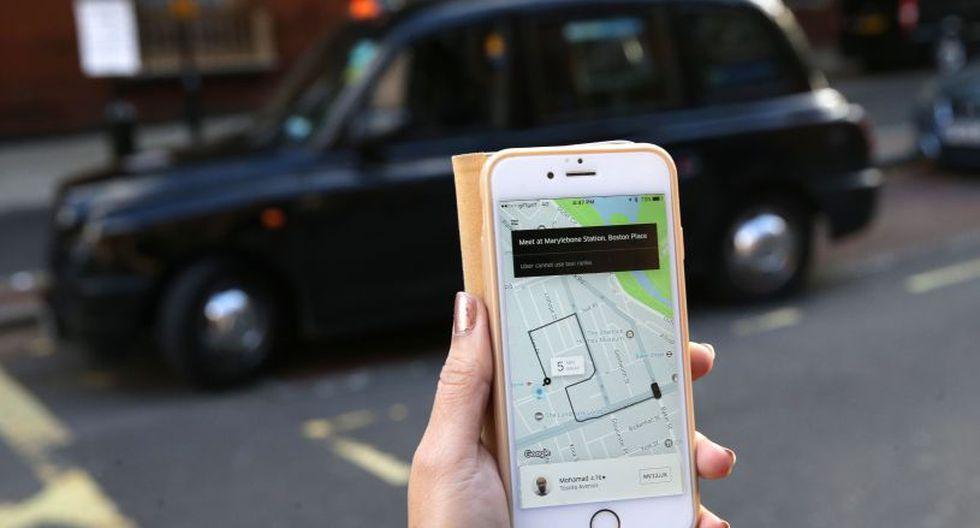 Uber tiene 45.000 conductores y 3,5 millones de clientes en la capital británica. (Foto: AFP)
