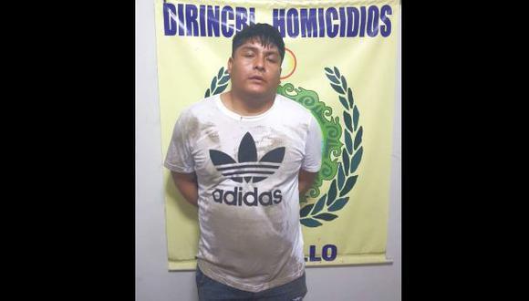 """""""El Ministerio Púbico solicitó la detención preliminar de Jorge Olórtegui 'Chueco' el 21 de noviembre y tras coordinar con la policía su captura, fue detenido luego de cinco meses de seguimiento"""", añadió la fiscalía (Foto: PNP)"""