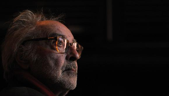 A sus 90 años, el director Jean-Luc Godard es el último estandarte del movimiento nouvelle vague. (Foto: AFP PHOTO/FABRICE COFFRINI)