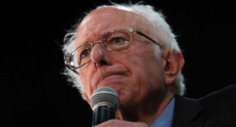 Bernie Sanders pone fin a su campaña presidencial demócrata en Estados Unidos. (AFP / JIM WATSON).