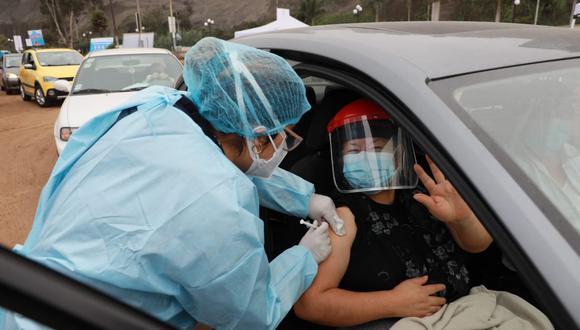 Proceso de vacunación a nivel nacional contra el COVID-19 continúa y ya se han logrado inmunizar a más de 5 millones de peruanos. (Foto: Juan Ponce Valenzuela/@gec)