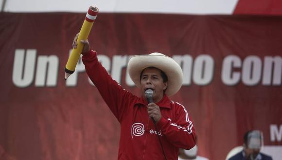 Pedro Castillo condenó los asesinatos registrados este lunes 24 de mayo en el Vraem. (Foto: César Campos / @photo.gec)