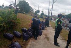 Iquitos: deflagración de gas en local de venta deja cuatro personas heridas