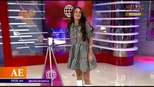 Rebeca Escribens baila canción del momento y sufre vergonzosa situación