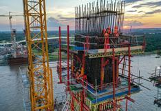 Loreto: construcción del puente Nanay presenta un avance de más del 53%