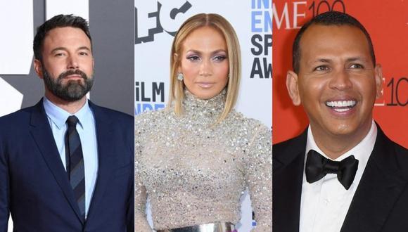 Jennifer Lopez y Alex Rodríguez mantienen negocios juntos pero se alejaron definitivamente cuando regresó Ben Affleck. (Foto: AFP / Composición)