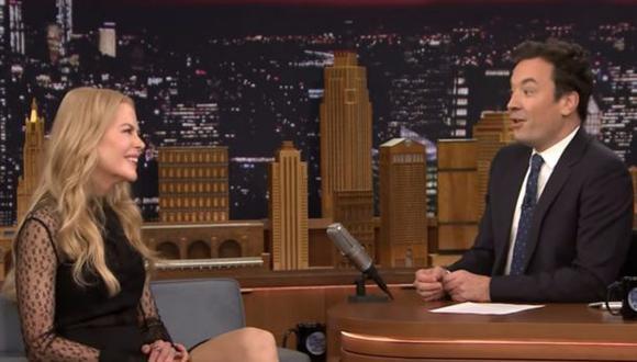 Nicole Kidman incomoda a Jimmy Fallon con confesión [VIDEO]