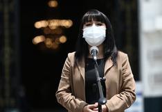 Mirtha Vásquez pide que lista de 487 funcionarios que recibieron la vacuna de Sinopharm sea publicada
