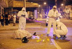 SJM: asesinan de doce balazos a repartidor de delivery en plena vía pública | VIDEO