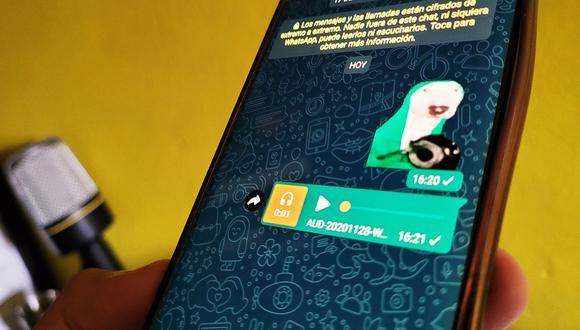 ¿Quieres sorprender a tus amigos con más stickers con sonidos en WhatsApp? Usa este truco. (Foto: MAG)