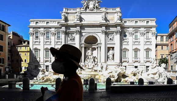 Coronavirus en Italia | Ultimas noticias | Último minuto: reporte de infectados y muertos hoy domingo 21 de junio del 2020. | Covid-19 | (Foto: Vincenzo PINTO / AFP).