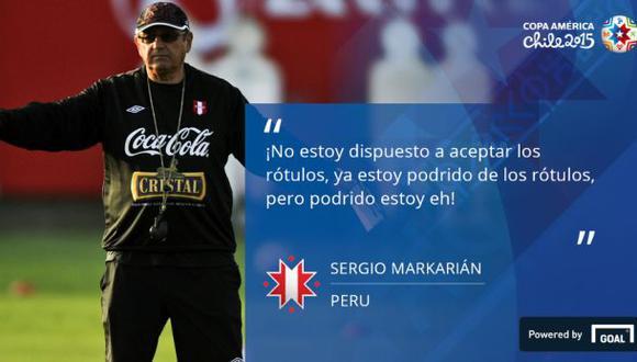 Copa América Chile 2015 recordó esta frase de Sergio Markarián