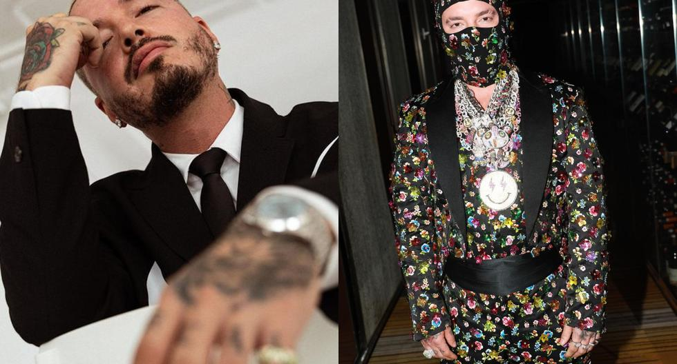 Met Gala 2021: J Balvin showed how his neck was after wearing heavy jewelry as part of his look