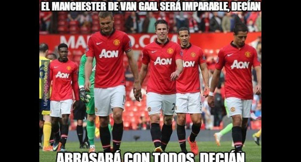 Mira los divertidos memes de la caída del Manchester United  - 7