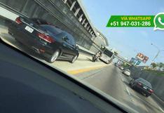Metropolitano: ¿los vehículos oficiales pueden invadir la vía?