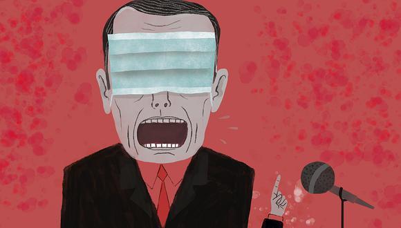 """""""El problema también es que la realidad no deja de cambiar cuando nosotros dejamos de medirla"""". (Ilustración: Víctor Aguilar)"""