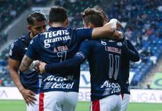 Monterrey goleó 3-0 a Columbus Crew y accedió a la semifinal de la Concachampions