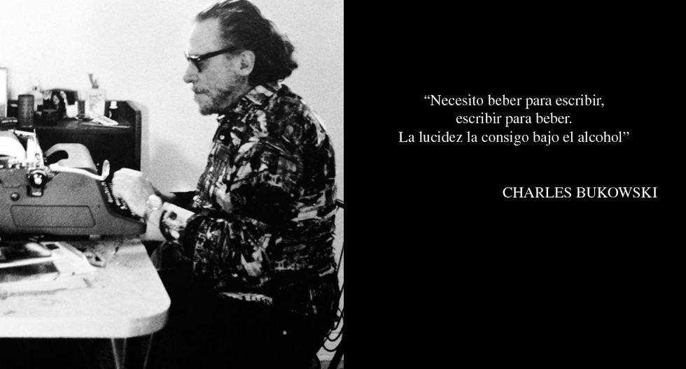 Charles Bukowski Sus Mejores Frases Sobre La Bebida Libros