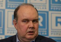 JEE excluye a López Aliaga por ofrecer que donará su remuneración si asume la Presidencia