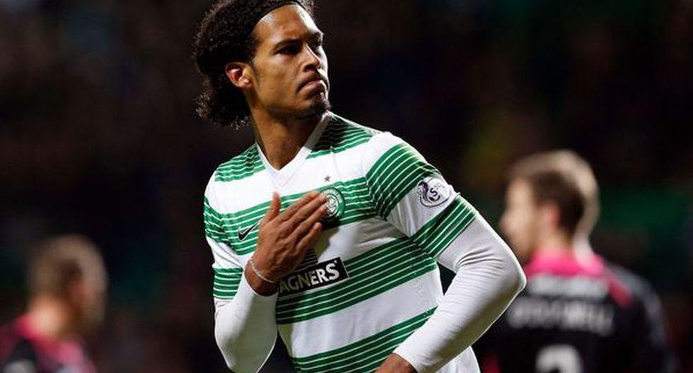 Virgil van Dijk | Pasó del Groningen al Celtic. (Foto: Agencias)