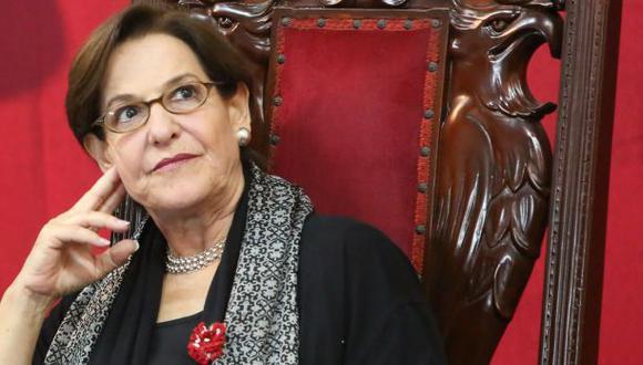 La alcaldesa de Lima, Susana Villarán, no estuvo presente en la sesión de hoy donde se aprobó su pedido de licencia. (Foto archivo Alonso Chero)