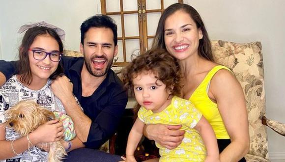 El actor comparte muchos momentos con su familia, a la cual adora. (Foto: Fabián Ríos / Instagram)