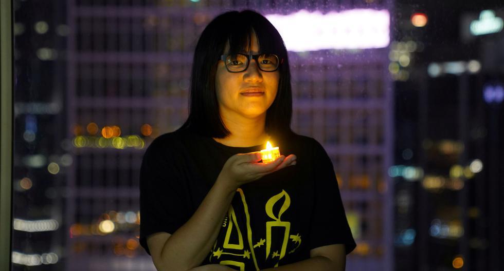Hong Kong Tiananmen Memorial Organizer Chow Hang-tung Released on Bail