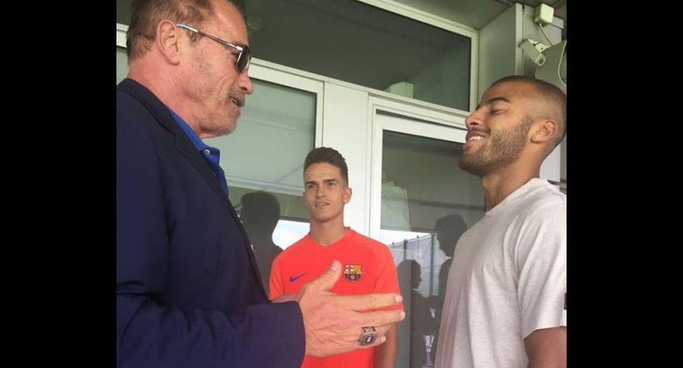 Facebook: Arnold Schwarzenegger conoció a Neymar [FOTOS] - 4