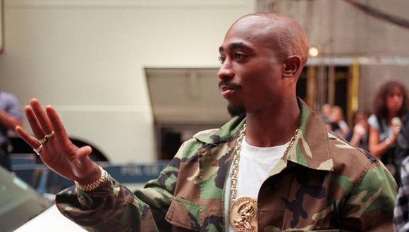 Foto de Tupac Shakur tomada el 4 de septiembre de 1996, tres días antes de tiroteo que fatalmente llevaría a la muerte del artista musical el 13 del mismo mes. (Foto: AP Photo/Todd Plitt, File)