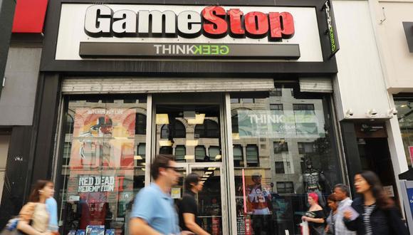 Wall Street vive una batalla inusual por las acciones de GameStop. (Foto: AFP)