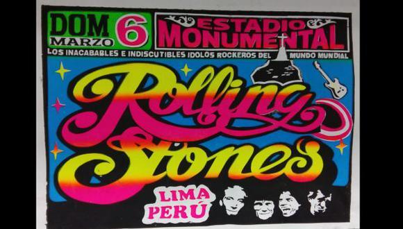 Rolling Stones en Lima: sorteamos 5 pósters con diseño peruano