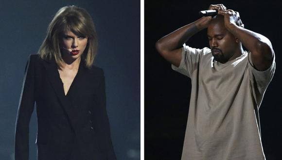 Kanye West fue grabado en camerino insultando a Taylor Swift