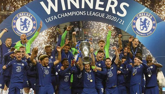 Chelsea consigue de esta manera su cuarto título internacional en los últimos 9 años: 2 Champions League y 2 Europa League. | Foto: AFP